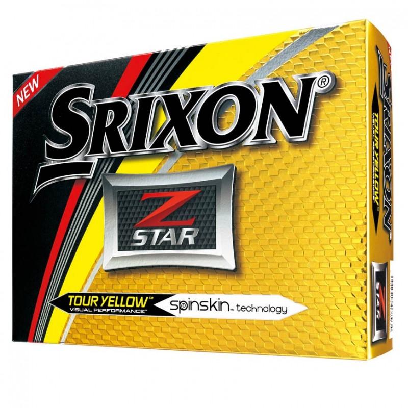 Bola Srixon Z-Star Yellow 3 Piezas
