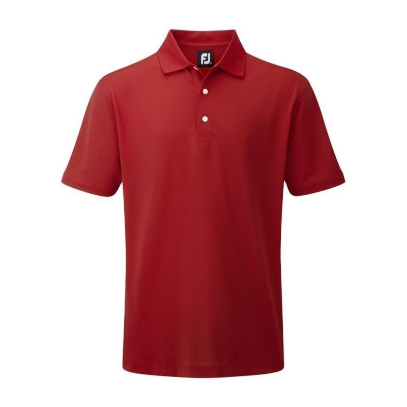 Polo Footjoy Stretch Pique Rojo