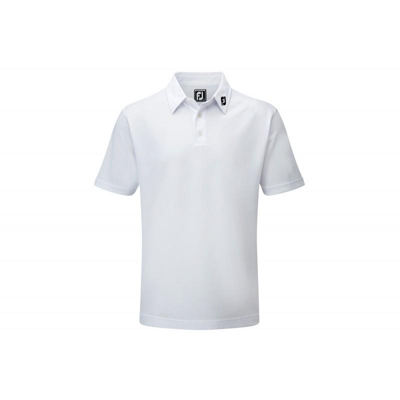 Polo Footjoy Athletic Fit Blanco