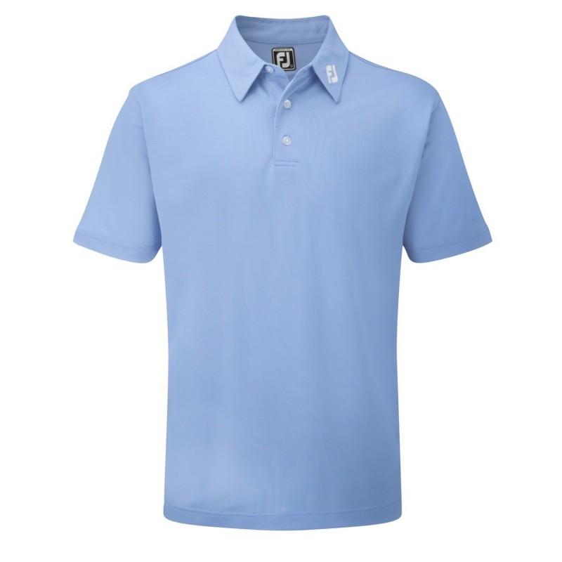 Polo Footjoy Athletic Fit Azul Claro
