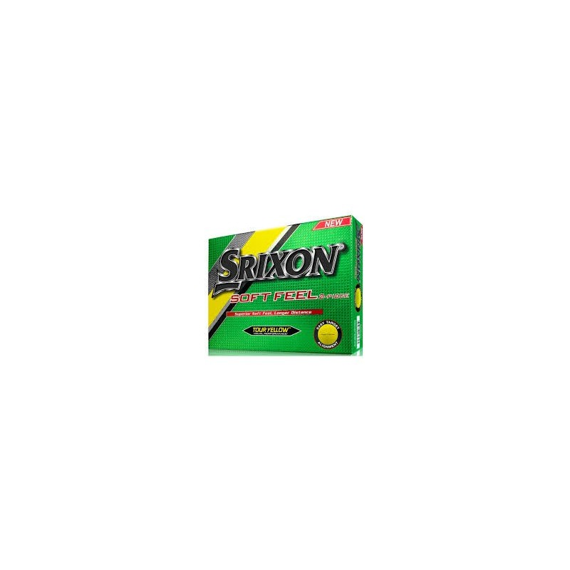 Bola Srixon SoftFeel - 2 Piece