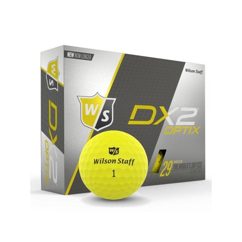 Bolas Wilson DX2 Optix - Yellow