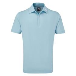 Polo FootJoy Micro Jacquard BLUE LIGTHT
