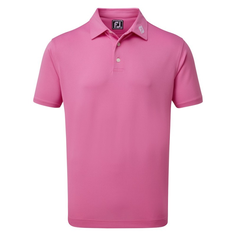Polo FootJoy Pique Athletic Fit Cape Red