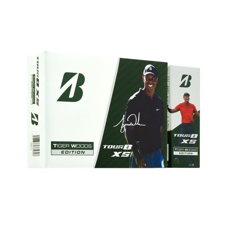 Bolas Bridgestone Tour B XS Tiger Woods Edition