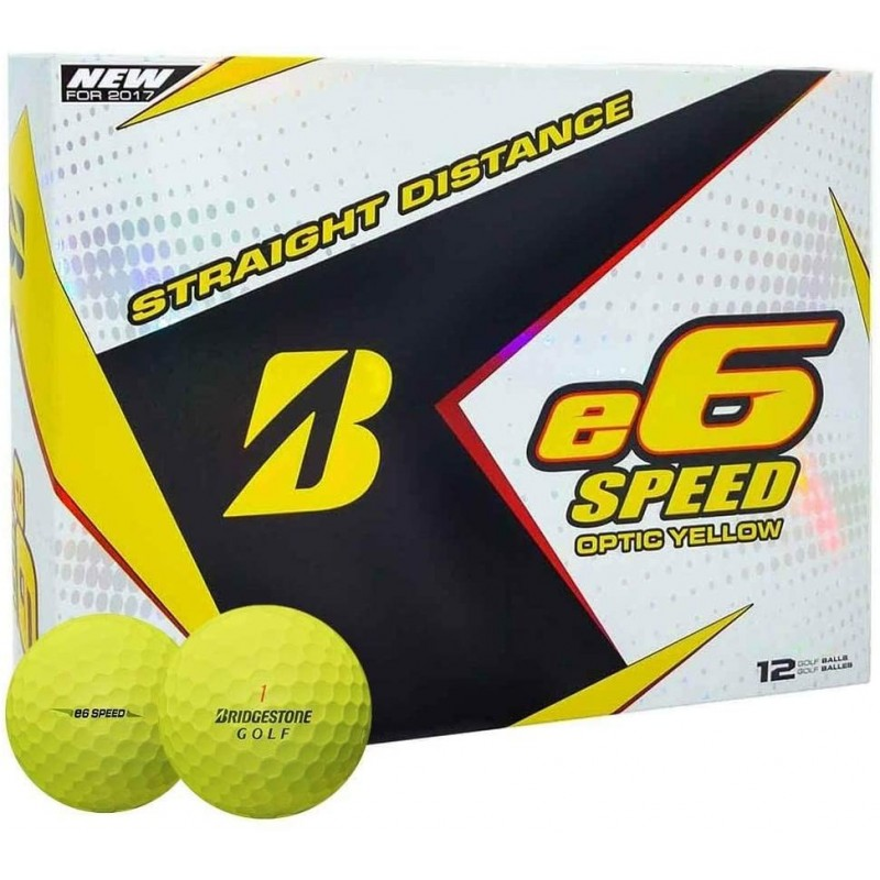Bolas Bridgestone e6 Speed Optic Yellow