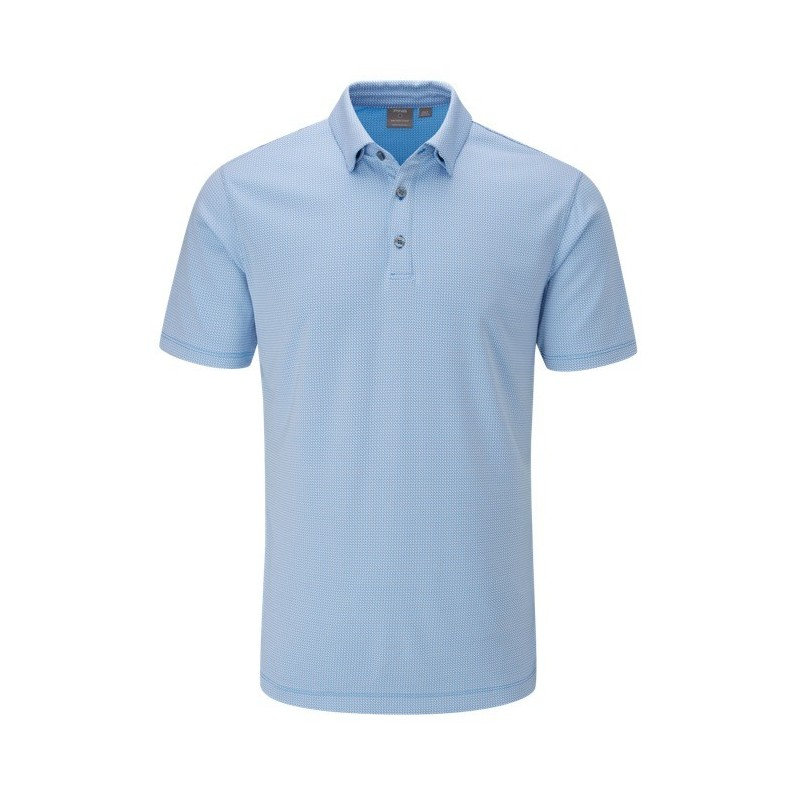 Polo Preston Ping Blue Water