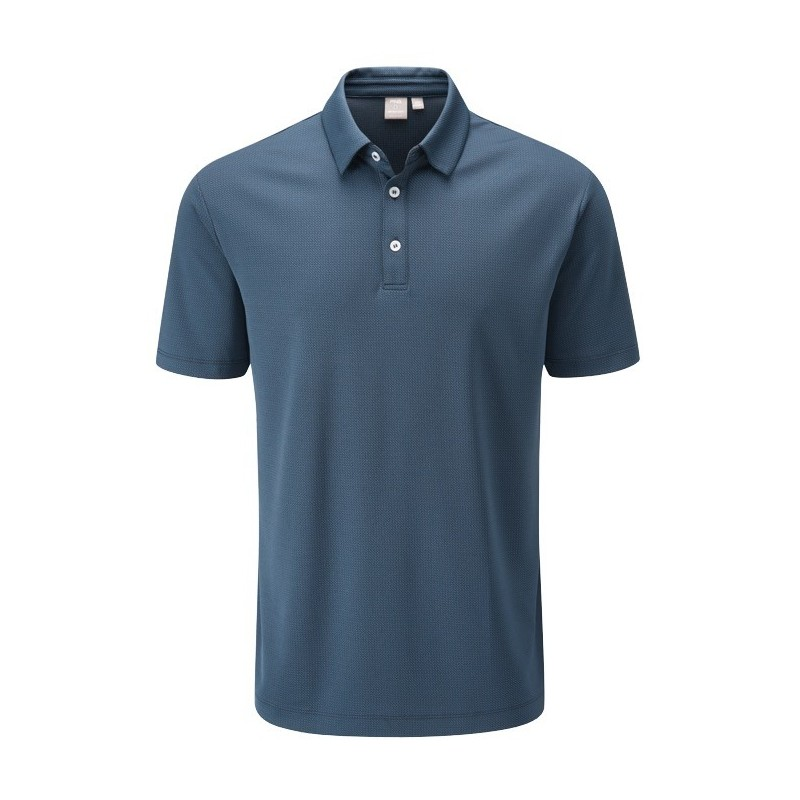 Polo Preston Ping Oxford Blue