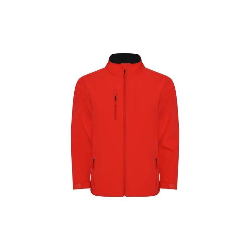 Softshell Golf  Niño Rojo