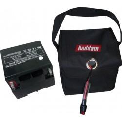 Batería Gel (28AH) Kaddam con Bolsa Nylon Negra