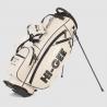 Bolsa Stand Bag Higee Nevada Blanco Roto