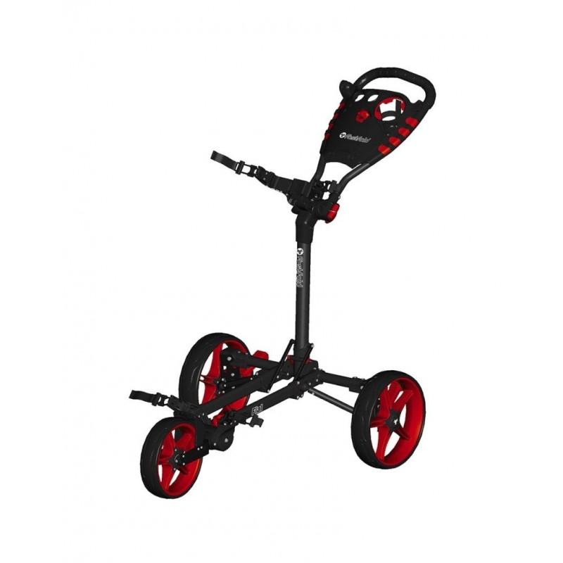Carro Manual FLAT by SmartFold Negro/Rojo