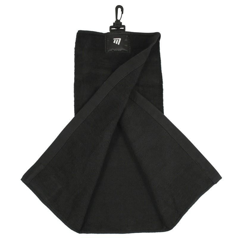 Tri-Fold Towel Black