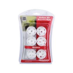 Airflow XP Bolas de Prácticas Balls White x 6
