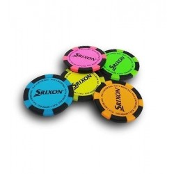 Marcador Srixon Poker (3 unid)