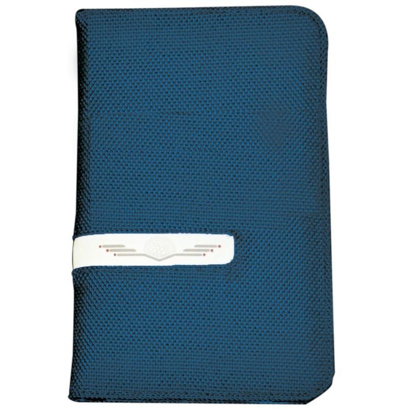 Tarjetero Deluxe Azul