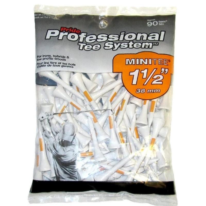 Pride Golf Tees PTS 1 1/2in Tee Pk 90 Orange