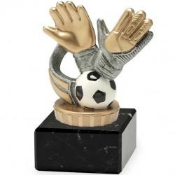 Trofeo de Fútbol Portero Menos Goleado 15 cm
