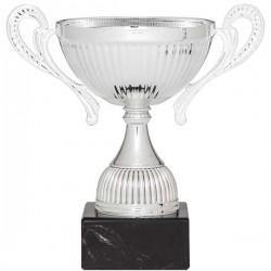 Copa Plateada vaso arrugado 15 cm