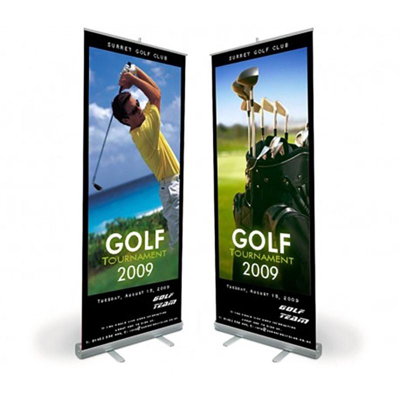 Roll_Up Golf Publicidad