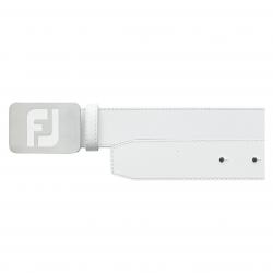 Cinturón FootJoy Piel Blanco