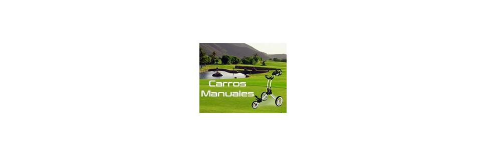 carros manuales para golf